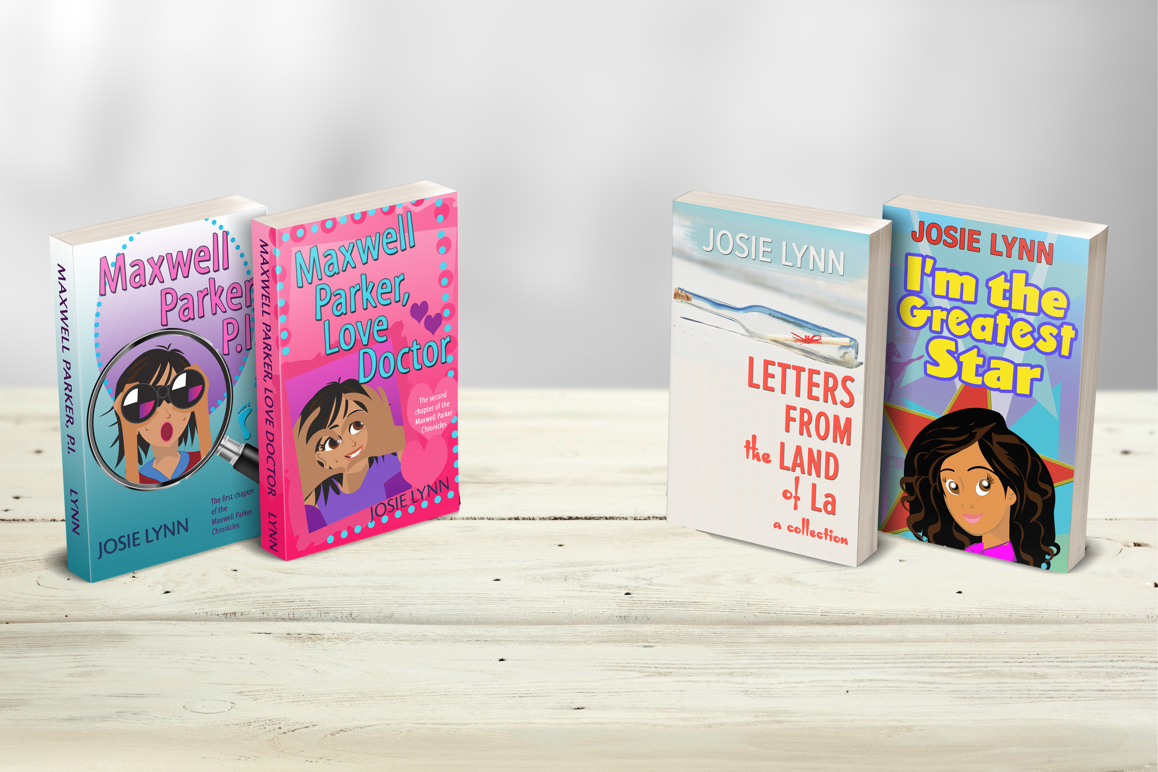 Book covers for website